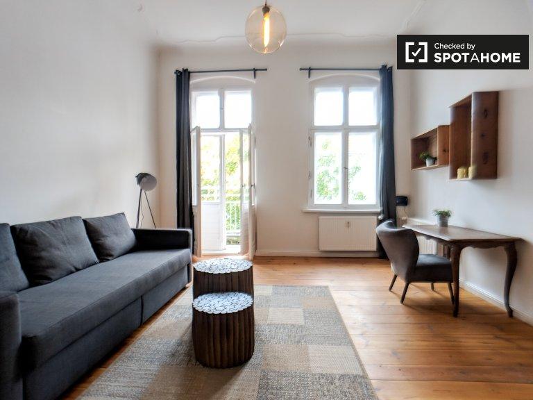 Appartamento con 1 camera da letto in affitto a Charlottenburg, Berlino