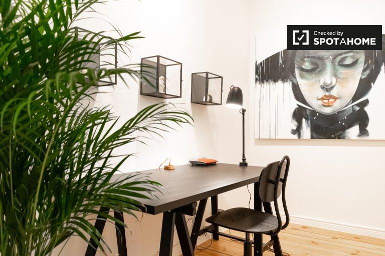 Apartamento con 1 habitación en alquiler en Prenzlauer Berg, Berlín