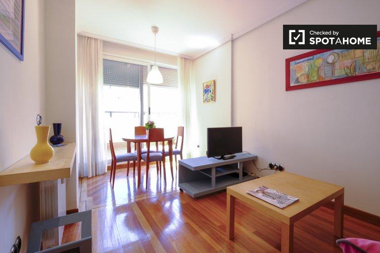 Relaxed 1-bedroom apartment for rent in Retiro, Madrid