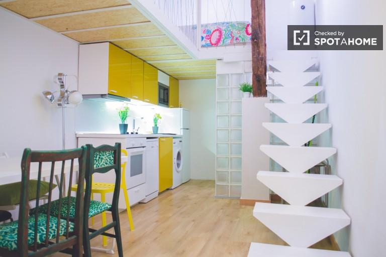 Eccentrico appartamento di 50 m2 in affitto a Lavapiés, Madrid