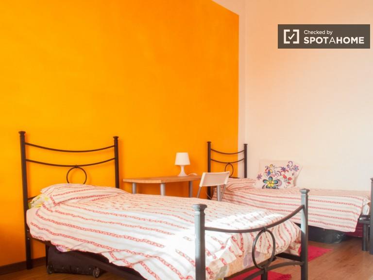 Prywatny pokój w 2-pokojowe mieszkanie w Bovisa, Mediolan