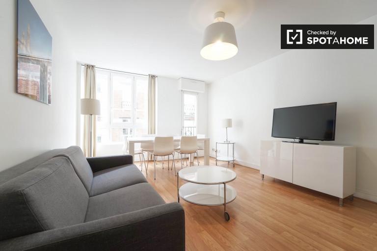 2-pokojowe mieszkanie do wynajęcia w centrum Paryża 17