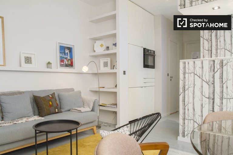 1-bedroom apartment for rent in Paris 2