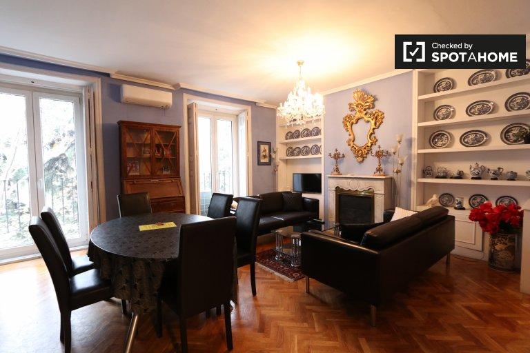 Süße 3-Zimmer-Wohnung zur Miete in Centro, Madrid
