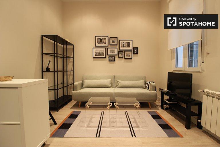 Kiralık 1 yatak odalı daire, Almagro ve Trafalgar, Madrid