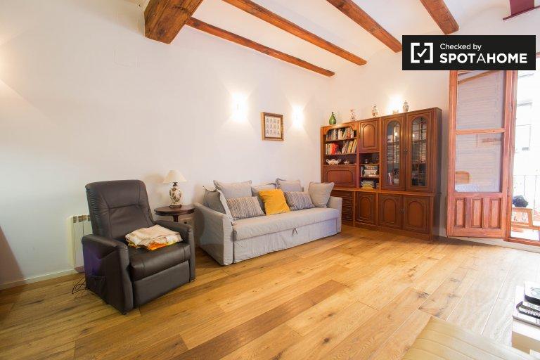 Mignon appartement de 1 chambre à louer à Ciutat Vella, Valence