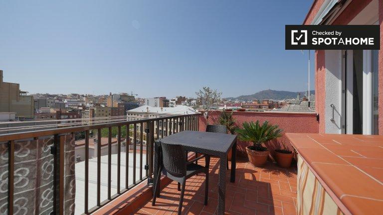 2-Zimmer-Wohnung zur Miete in Sants in Barcelona