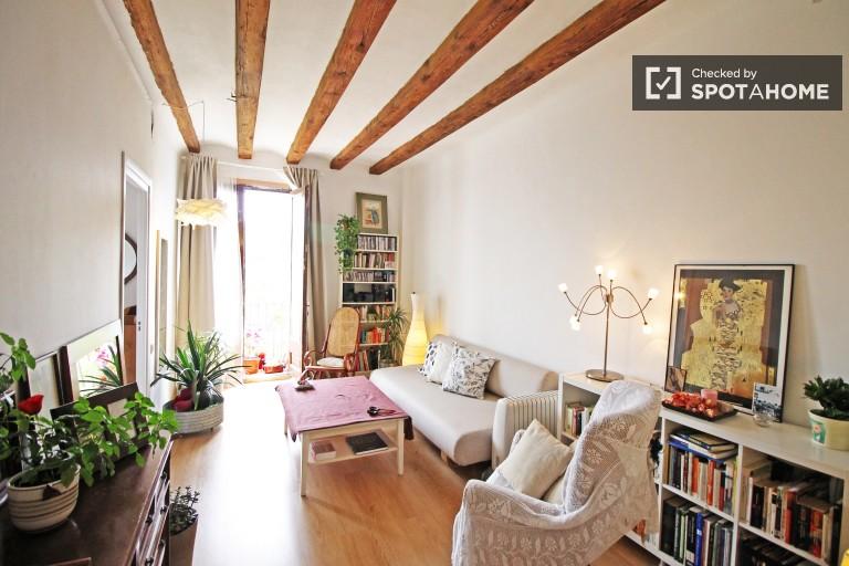 1-Zimmer-Wohnung mit Balkon zu vermieten in Barcelona