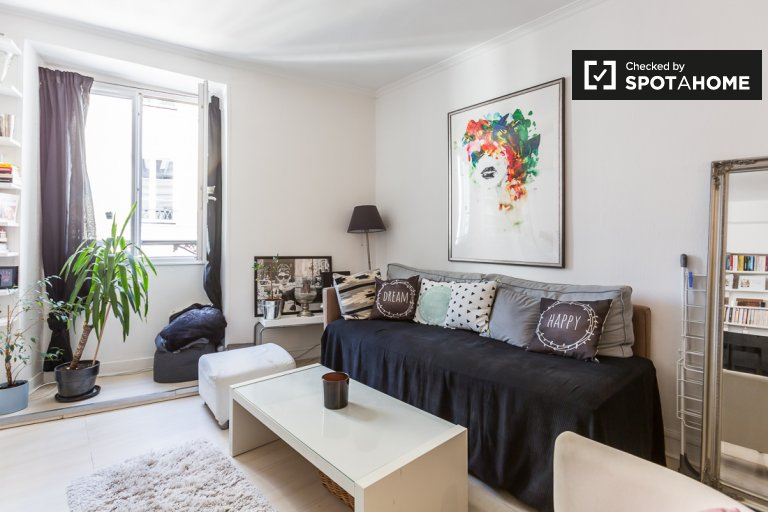 Charming 1-bedroom apartment for rent in the 1st arrondissement