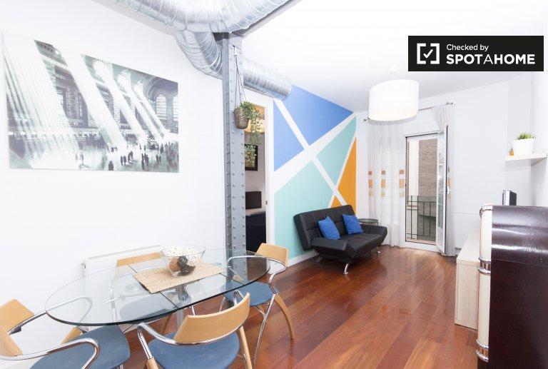 Schöne 3-Zimmer-Wohnung zur Miete in Salamanca, Madrid.