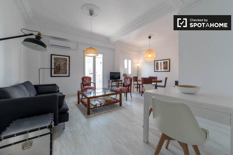 L'Eixample, Valencia'da 3 yatak odalı şık daire