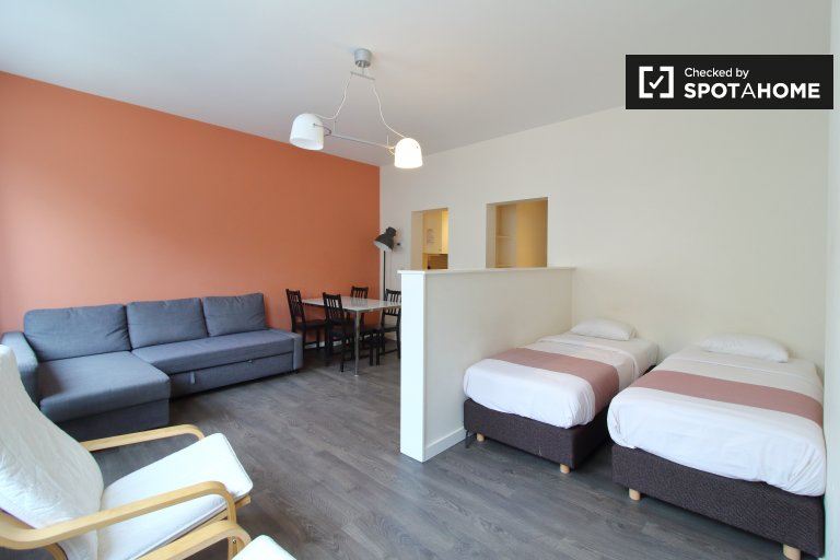 Cute studio apartment for rent in Brussels' City Center