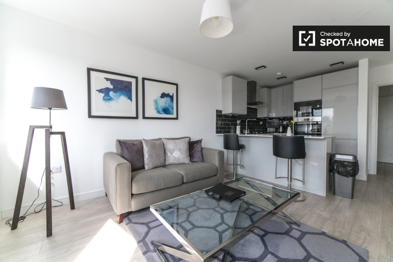 Stylish 1-bedroom apartment to rent in Tower Hamlets, London