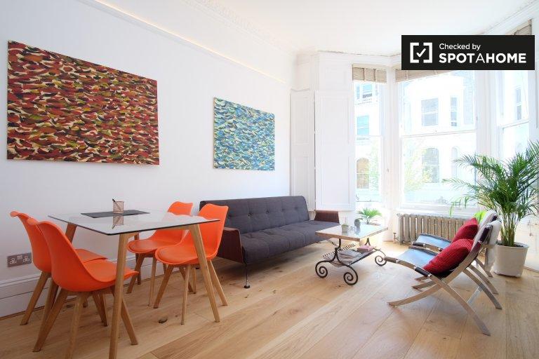 Appartement moderne de 1 chambre à louer à Kensington, Londres