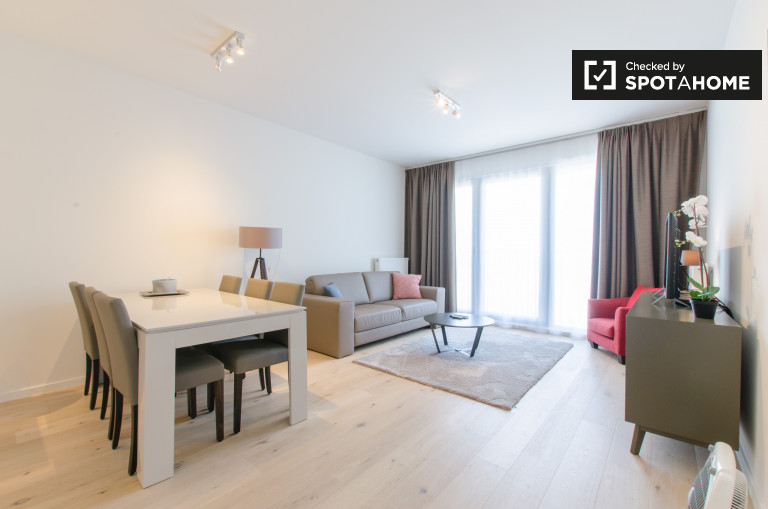 2-bedroom apartment for rent in Brussels city centre