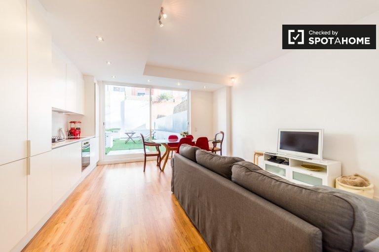 1-pokojowe mieszkanie do wynajęcia w Azul, Lizbona