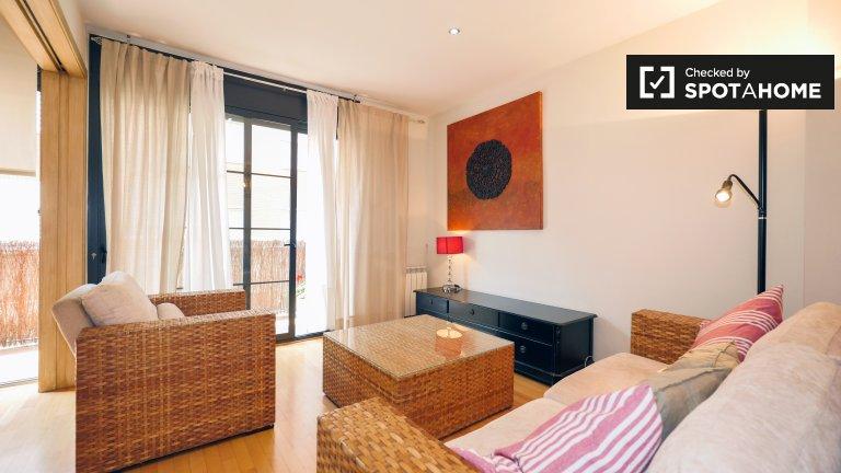 Fab 2-pokojowe mieszkanie do wynajęcia w Sant Andreu, Barcelona