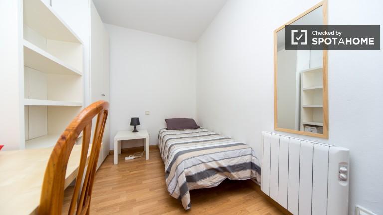 Interior single room with no window