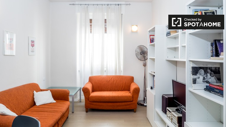 Colourful studio apartment for rent in Sarpi area