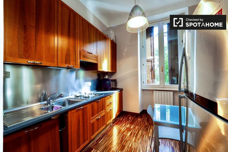 Apartamento de 1 quarto elegante para alugar em Buenos Aires, Milão