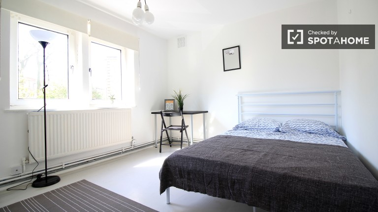 Exterior room in shared flat in Islington, London