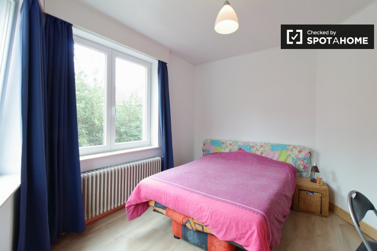 Charming room for rent in Evere, Brussels
