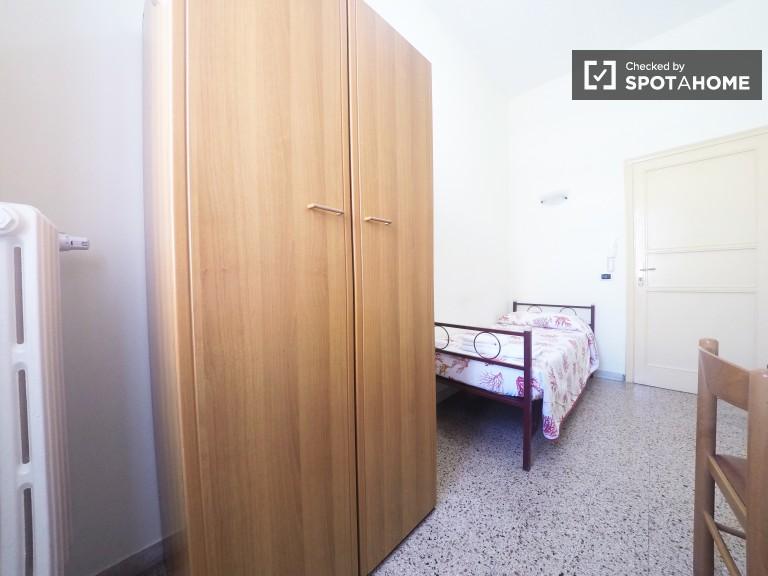 San Lorenzo, Roma'da daire içindeki merkezi oda