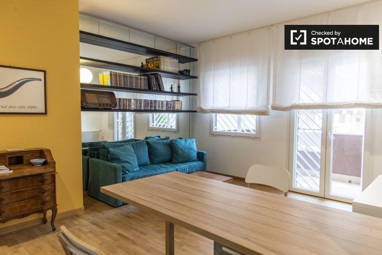 Grand appartement avec 1 chambre à louer à Monte Sacro, Rome