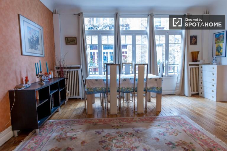 Élégant appartement de 1 chambre à louer à Passy, Paris 16e