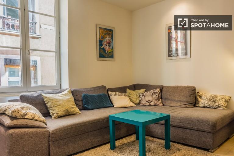 Helle 2-Zimmer-Wohnung zur Miete in Croix-Rousse, Lyon 1