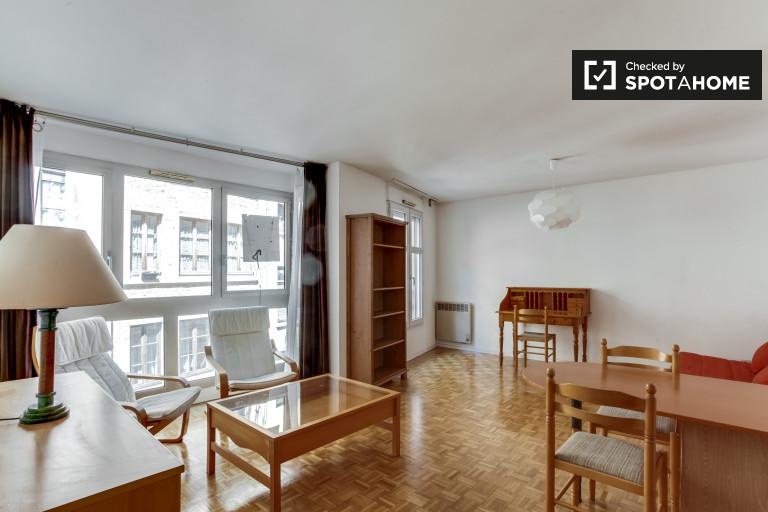 Bright studio apartment for rent in Croix-Rousse