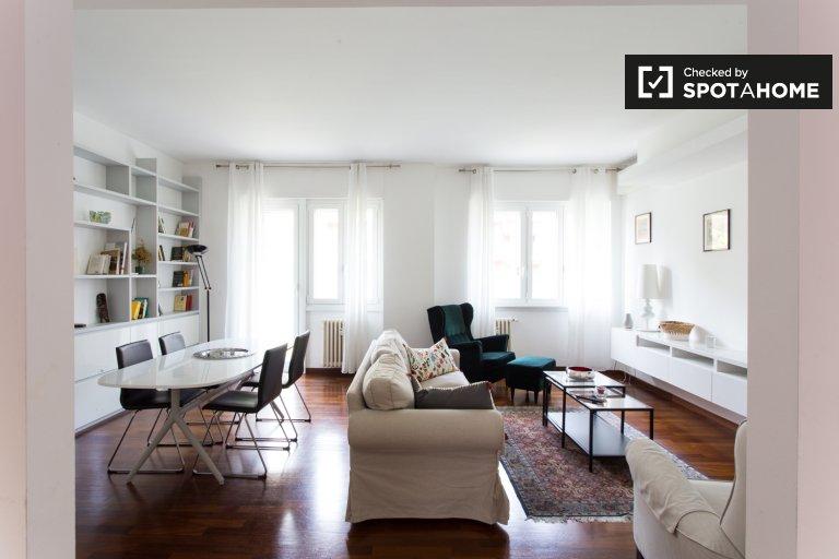 Ampio appartamento in affitto con 2 camere da letto, Zona Tortona, Milano