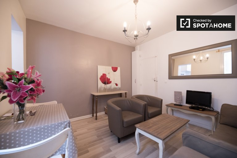 Cute 1-bedroom for rent in the 18th arr., Paris