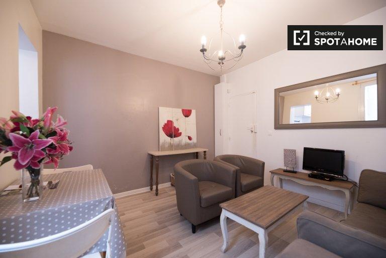 Linda 1 habitación en alquiler en el distrito 18, París