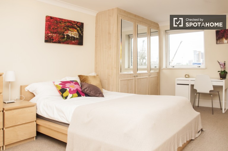 Spacious Bedroom 3 With A Large Window and Stunning View