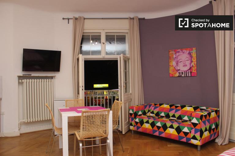 Stylowy apartament typu studio do wynajęcia w Lichterfelde, Berlin