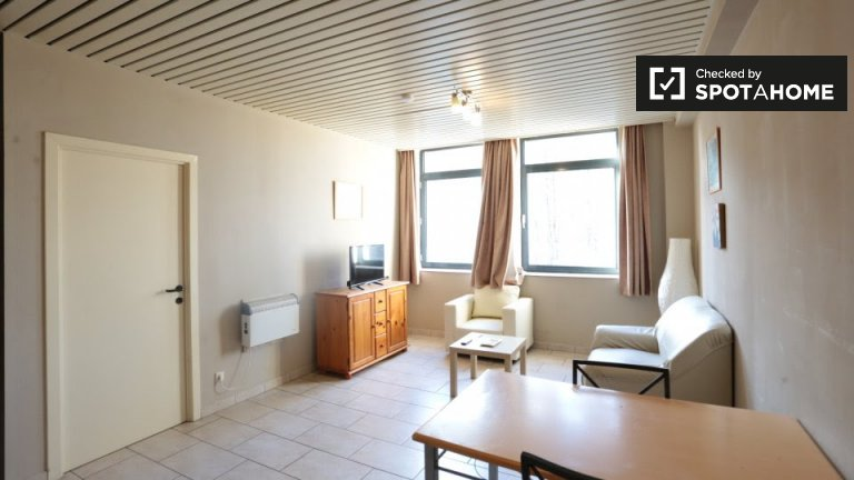 Apartments for rent in residence hall, Schaerbeek, Brussels