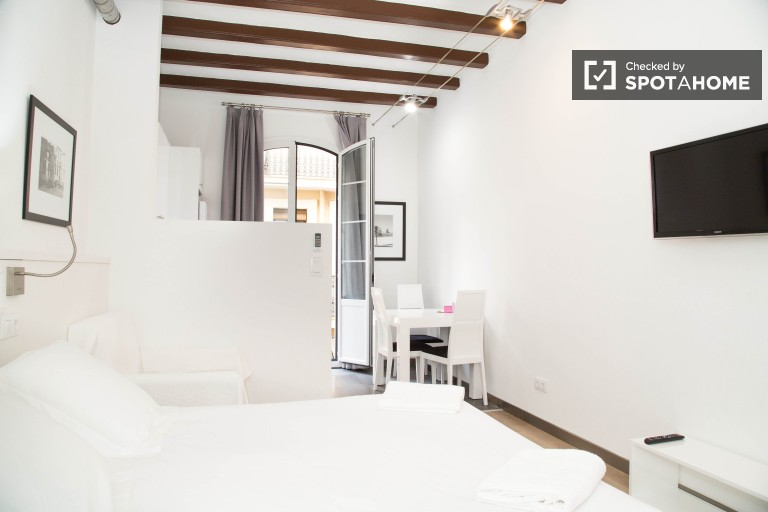 Lively rented apartment in Gracia, Barcelona