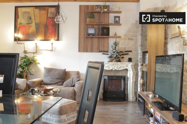 Quirky 2-Zimmer-Wohnung zur Miete in Spandau, Berlin