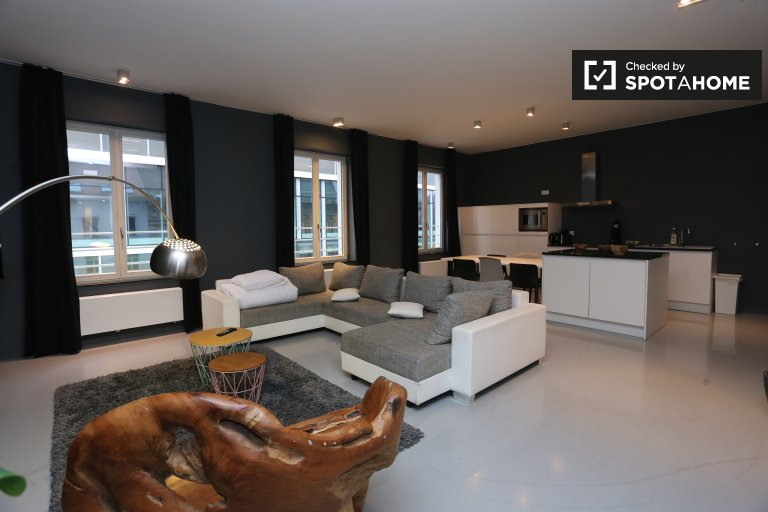 Stylish 2-bedroom apartment for rent in Brussels City Center