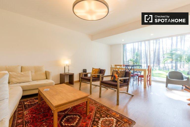 Kiralık 3 yatak odalı şık daire, Aroeira, Portekiz