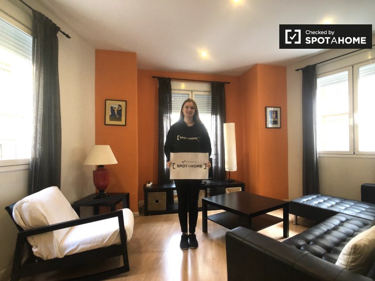 Cozy 1-bedroom apartment for rent in Madrid Centro
