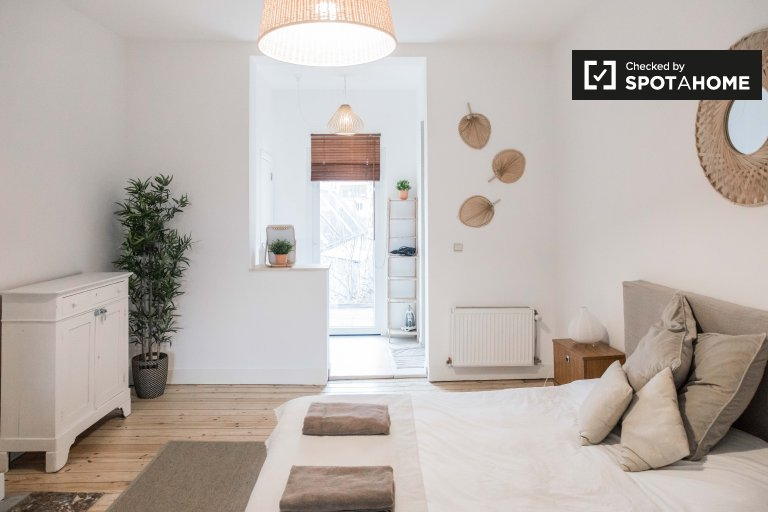 Stilvolles Studio-Apartment zu vermieten in Schaerbeek, Brüssel