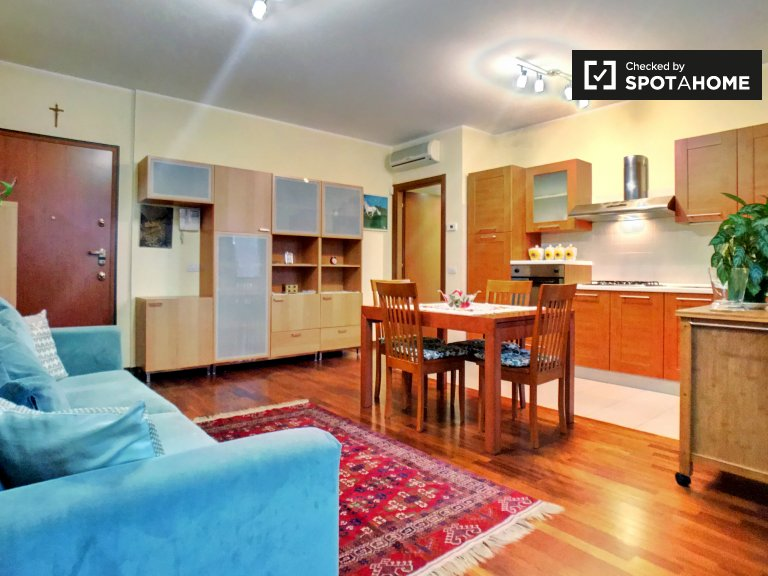 Lovely 1-bedroom apartment for rent in Dergano, Milan