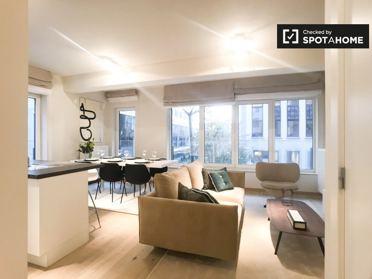 2-bedroom apartment for rent in European Quarter, Brussels