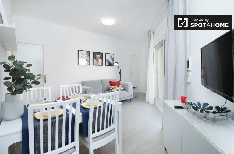 2-pokojowe mieszkanie do wynajęcia w Eixample Dreta, Barcelona