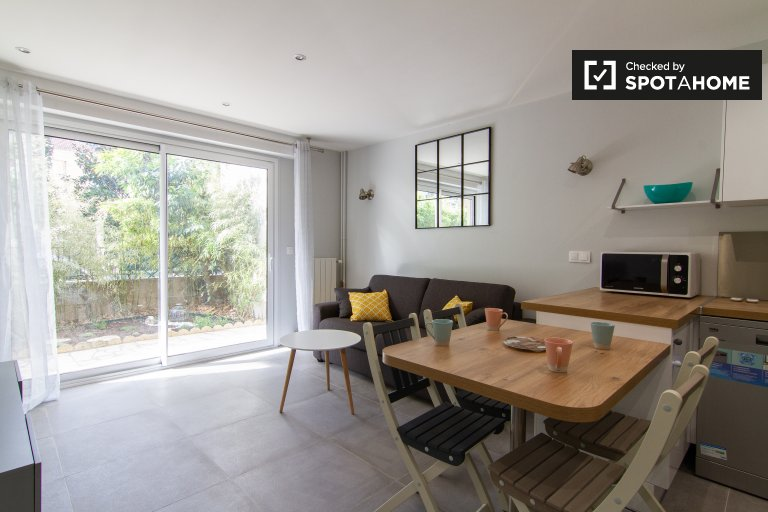 Stylish 1-bedroom apartment for rent in Asnières-sur-Seine