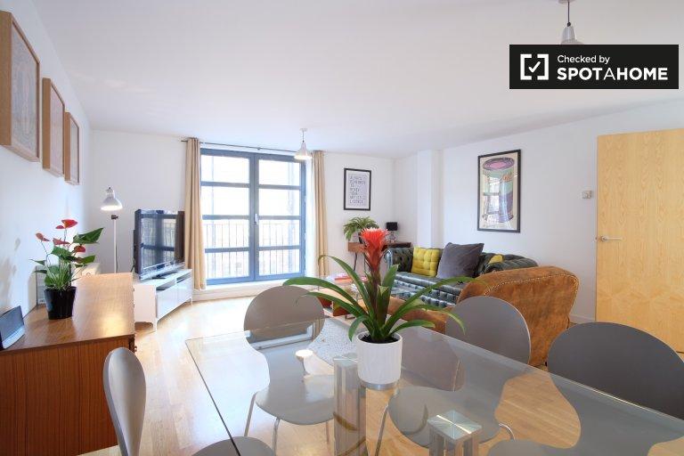 Stilvolle 2-Zimmer-Wohnung in Shoreditch, London zu vermieten