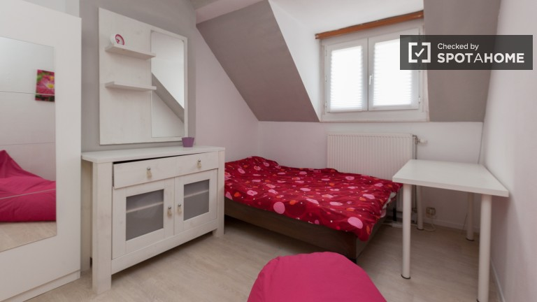 Bedroom 3 - Room with Double Bed and AC on Second Floor