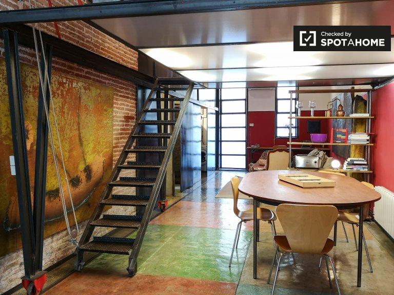 Studio-Apartment zu vermieten in Gracia, Barcelona